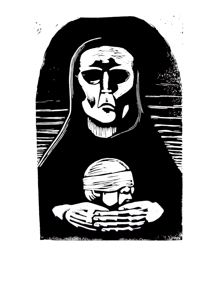 Madonna and Child - After Kathe Kollwitz